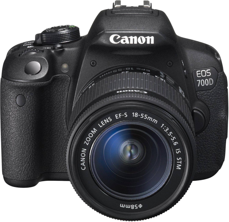 Réflex Canon EOS 700d + objectif 18-55mm