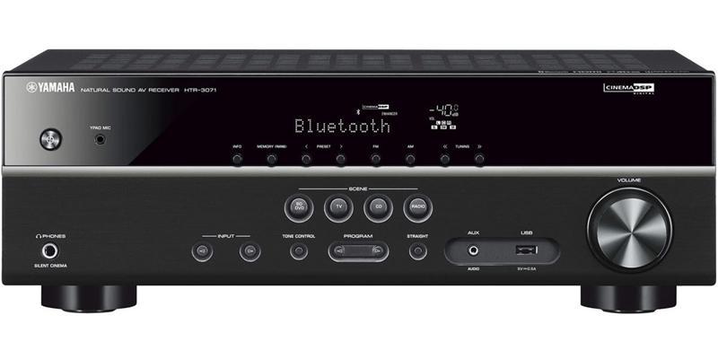 Amplificateur Home-cinéma 5.1 Yamaha HTR-3071 - Noir