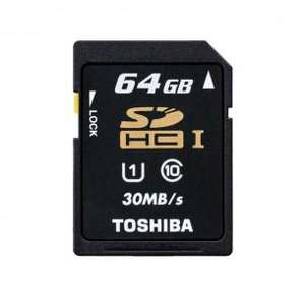 Carte mémoire SDHC Toshiba 64 Go Classe 10