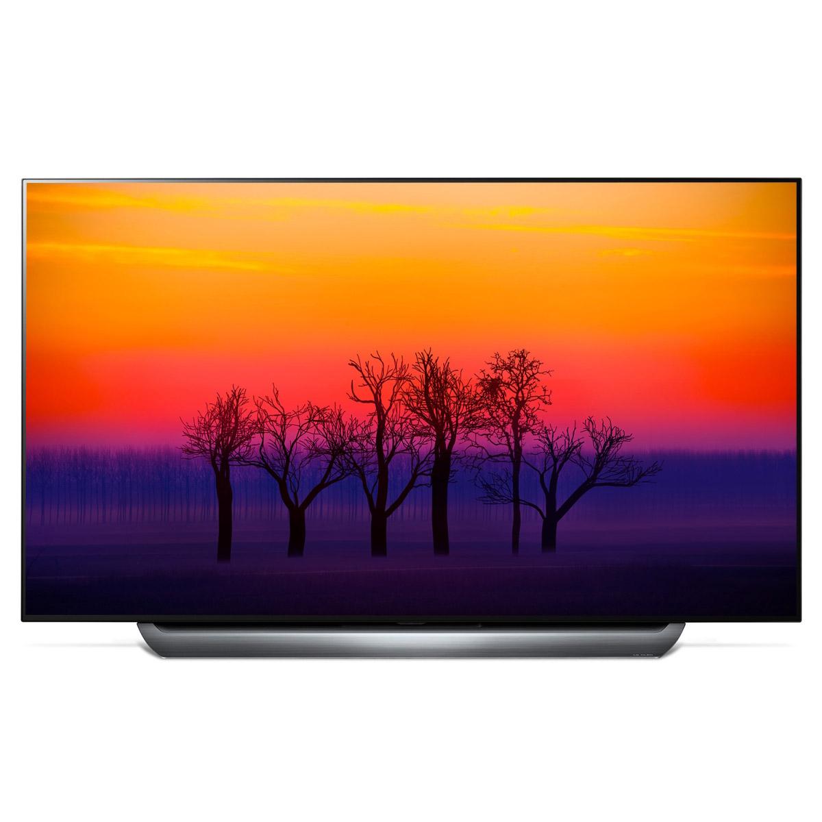 "TV OLED 55"" LG OLED55C8 - 4K UHD, HDR, Smart TV (avec ODR 200€)"