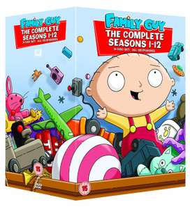 Coffret DVD Family Guy - Les griffin - Saison 1 à 12 (VO uniquement)