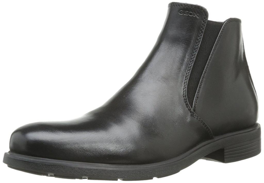 Boots Geox noires (Taille 41 à 46 sauf 42)