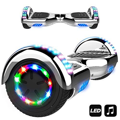 Gyropode électrique Markboard - Bluetooth, LED, Auto-équilibrage (Vendeur tiers)
