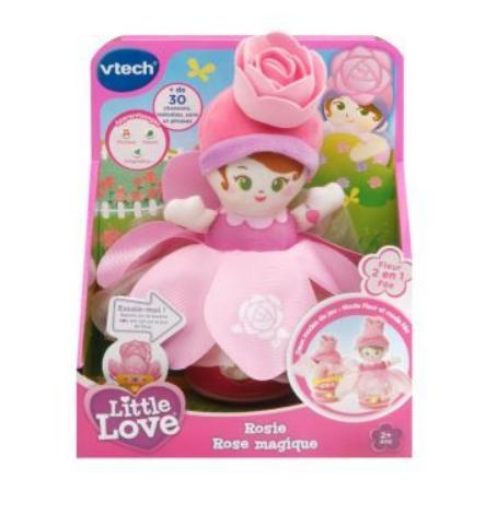 Poupée Little Love Fleurs Magiques Vtech (Modèle aléatoire)