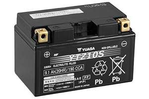 Batterie de Moto Yuasa YTZ10S - 150 mm x 87mm