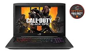 """PC Portable Gamer 17"""" Asus ROG SCAR-GL703GS-E5011T (i7, RAM 16 Go, 1 To HDD, SSD 256 Go, GTX 1070 8 Go) + Call Of Duty Black Ops IIII"""