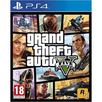 Jeu GTA 5 sur PS4