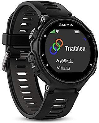 Montre GPS Multisports Garmin Forerunner 735XT - Noir ou Bleu