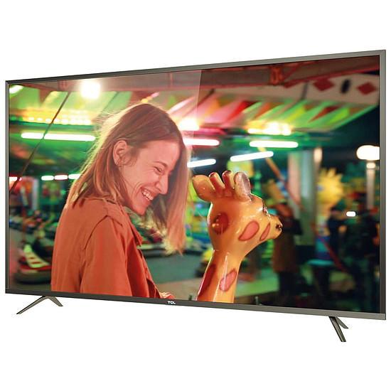 """TV 60"""" TCL U60P6026 - LED, 4K UHD, Smart TV (via 100€ ODR) - 457,95€ avec le code KADO"""