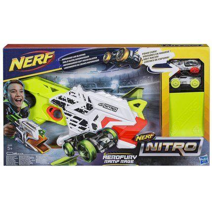 Pistolet Nerf Nitro Aerofury Ramp Rage