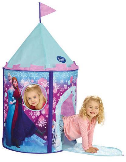 Tente château La Reine des neiges, Princesses et Minnie