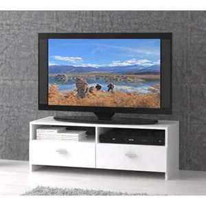 Meuble TV Finlandek Helppo 95cm blanc