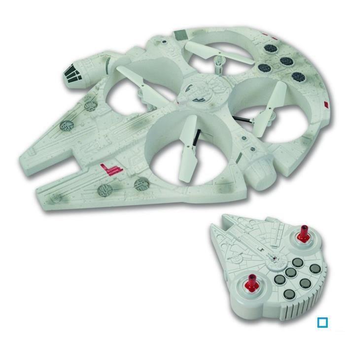 Jouet Star Wars Véhicule Télécommandé Disney Drone Faucon Millénium - 35,5 cm