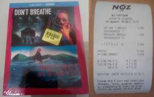 Coffret bluray Don't Breathe + Instinct de Survie (Perpignan 66)