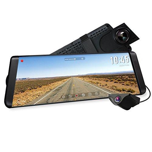 """Caméra de recul embarquée / rétroviseur Auto-Vox X2 - écran 10"""", full HD, 1080p (vendeur tiers)"""