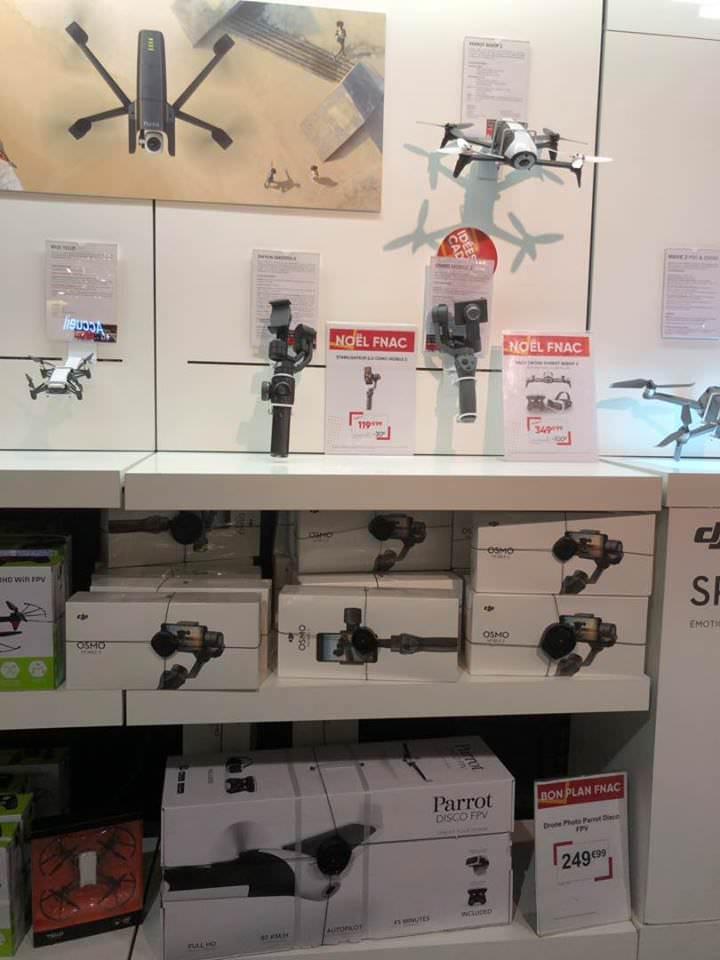 Drone Parrot Disco + Skycontroller 2 + Cockpit Glasses - Montparnasse (75)