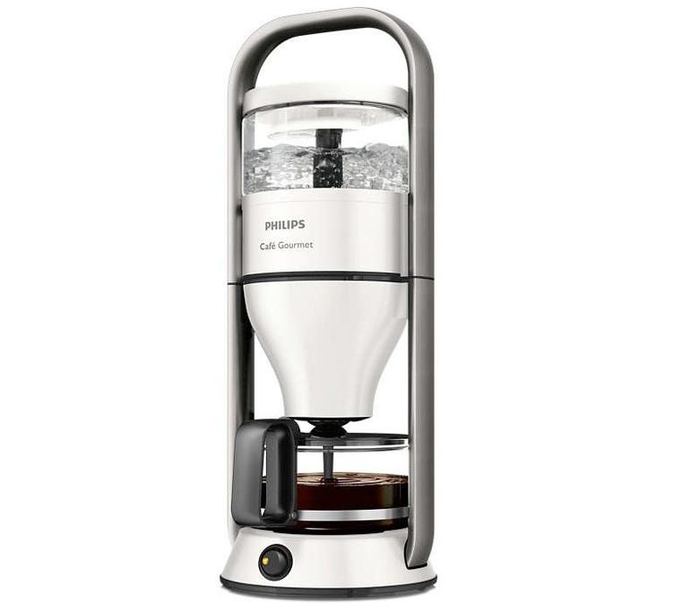 Cafetière à filtres Philips Café Gourmet HD5408/10 - Boil & Brew, 1300 W