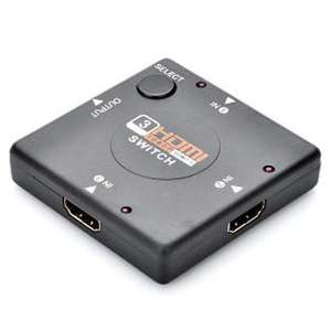 Switch HDMI 4 ports 1080P (3 in / 1 out)