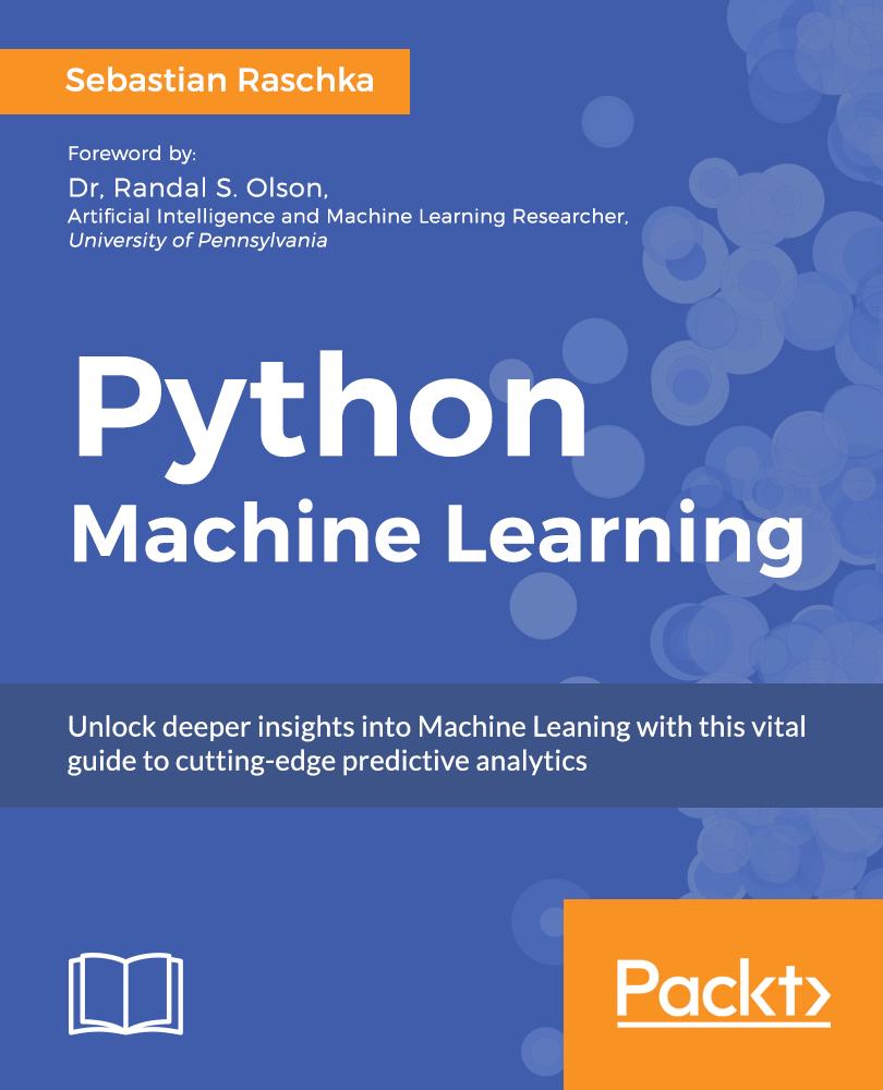 eBook Python Machine Learning Gratuit (Anglais - Dématérialisé)