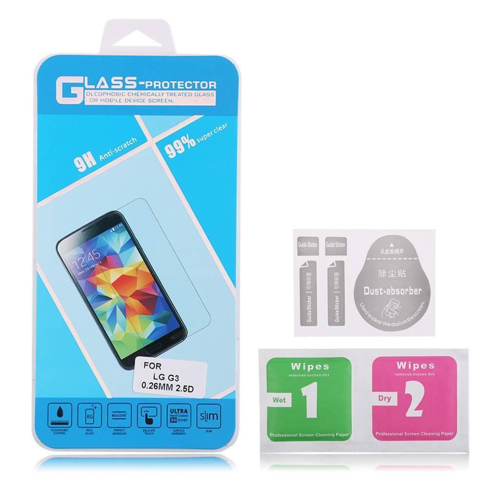 Protection en verre trempé 9H - Différents modèles (iPhone 5, S4, etc..)