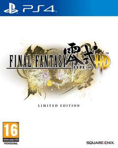 Final Fantasy Type-0 HD - FR4ME Limited Edition sur PS4 et Xbox One