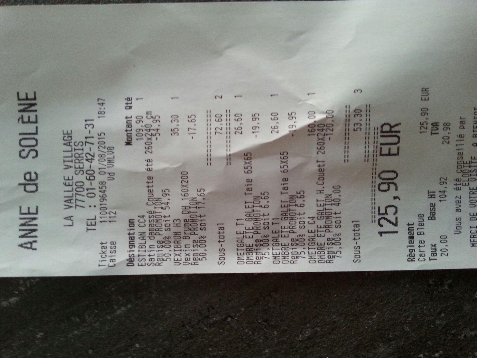 Jusqu'à -75% sur une sélection de produits - Ex : Couette Ometgale C4 260 x 240cm