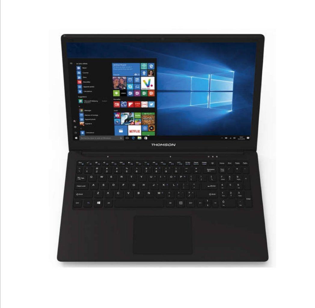 """PC portable 15,6"""" Thomson - Full HD - Intel N3350 - 4Go Ram -  500 Go HDD (Via ODR de 30€)"""