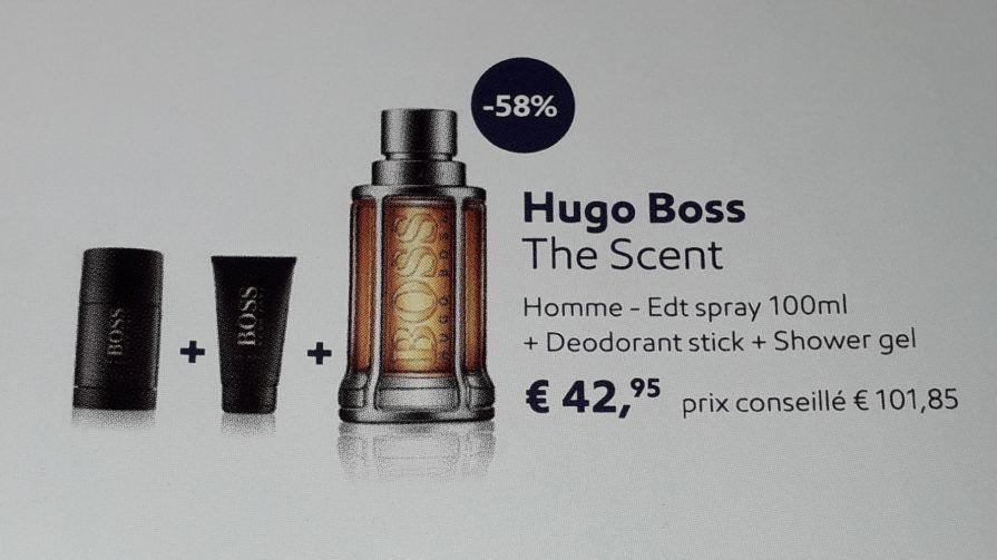 Coffret Eau de Toilette Hugo Boss The Scent - Esso (Frontaliers Luxembourg)