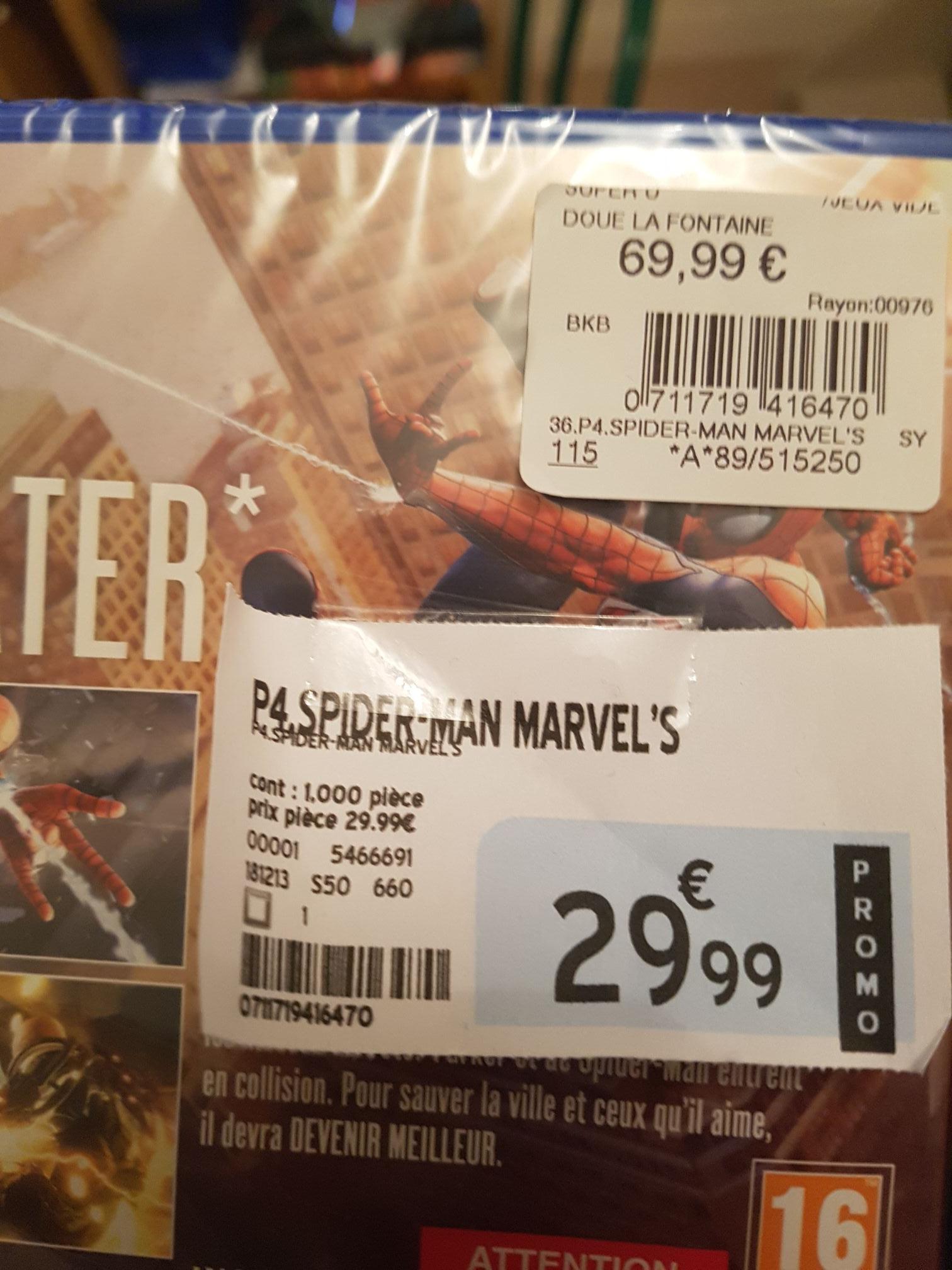 Marvel's Spiderman sur PS4 - Doué la Fontaine (49)