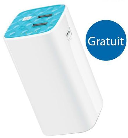 Batterie PowerBank Tp-Link 10400mAh offerte pour l'achat d'un répéteur Wi-Fi (via formulaire) - Ex : Batterie + Répéteur TP-Link TL-WA850RE