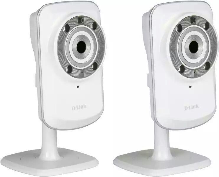 Pack de 2 caméras IP D-Link dcs 932 l