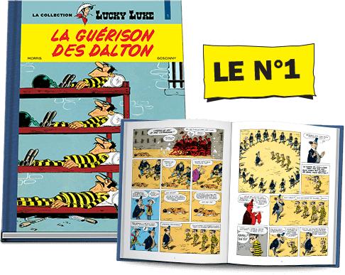Bande Dessinée Lucky Luke -  La guérison des Dalton