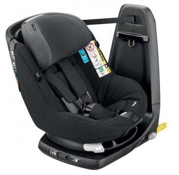 Siège auto Bébé Confort AxissFix Black Raven  -  i-size (61-105 cm, 19 kg max)