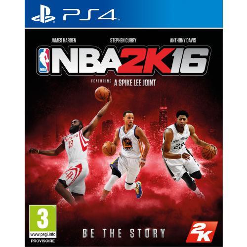 Précommande: Jeu NBA 2K16 sur PS4