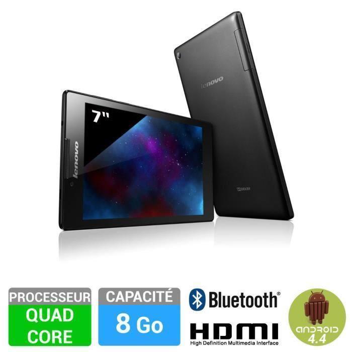 """Tablette 7"""" Lenovo IdeaTab 2 A7-10 - 8Go, Quadcore (30€ ODR)"""