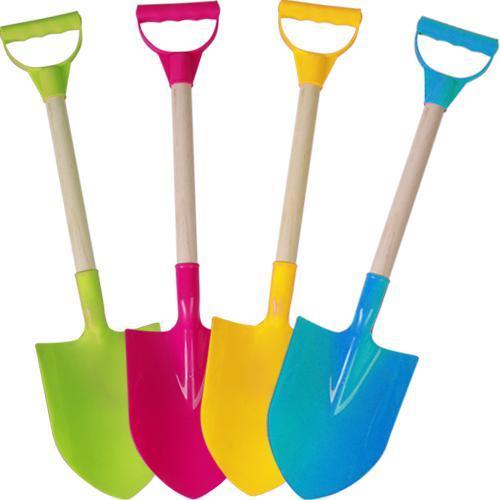Pelles en bois pour enfant 60 cm - Différents coloris
