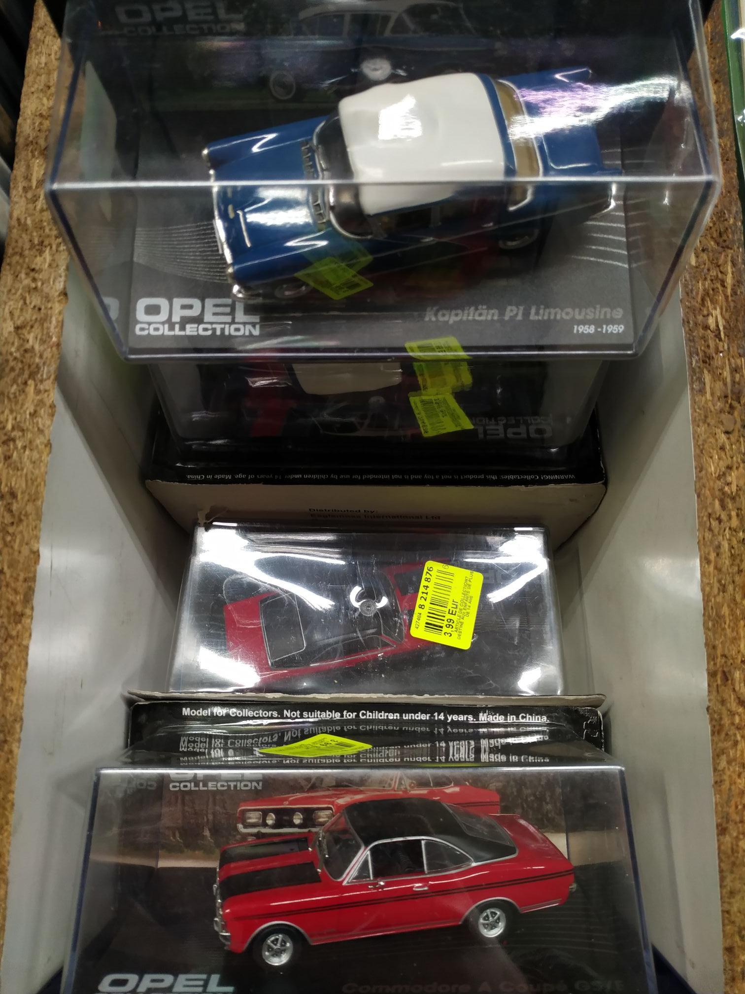 Voiture de collection Opel (différents modèles) - Niort (79)