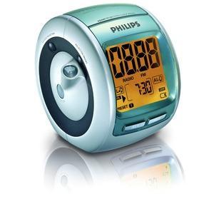 Radio réveil Philips AJ3600 avec projection de l'heure