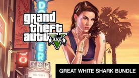 Grand Theft Auto V Great White Shark Bundle: Le jeu + Great White Shark Cash Card - $1,250,000 sur PC (Dématérialisé - Rockstar club)
