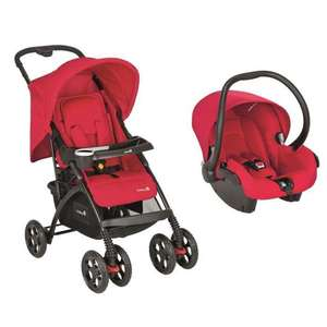 Poussette Combinée Duo Safety First Trendideal Full Rouge