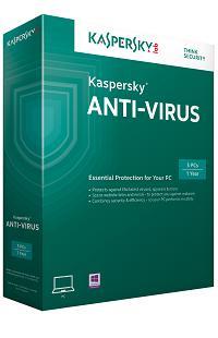 Licence 3 mois Kaspersky Anti-Virus 2015 gratuite