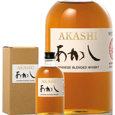 Bouteille de Whisky Japonais Akashi Blended - 50c + Etui