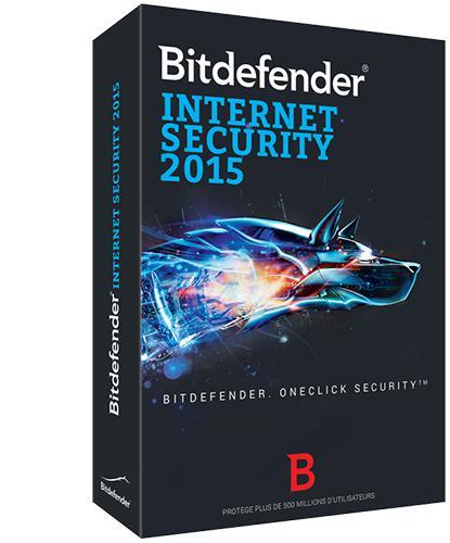 Logiciel Antivirus Bitdefender Internet Security 2015 avec Licence de 9 mois gratuite