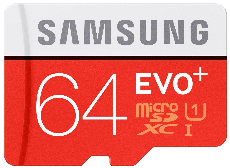 Carte microSDXC Samsung Evo+ Classe 10 - 64 Go