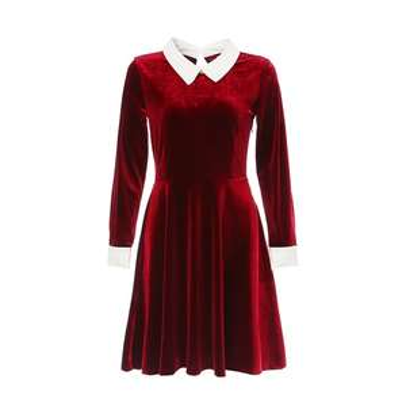 Robe courte en velour - Différentes tailles