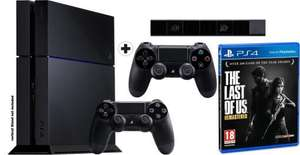 Console Sony Playstation 4 500Go + 2ème Manette + Camera Playstation Eye + Jeu The Last of Us Remastered