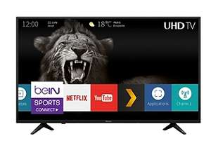 "TV LED 50"" Hisense H50A6140 - UHD 4K, HDR, Smart TV"