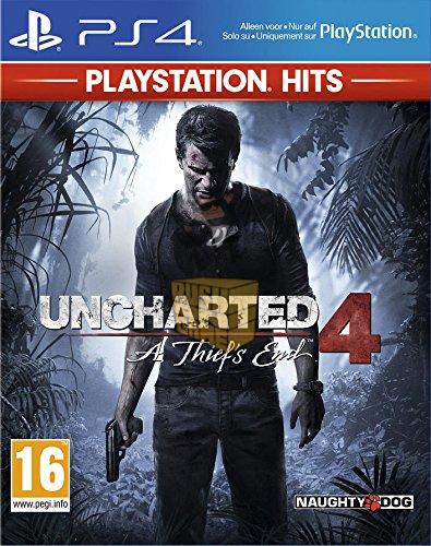 Sélection de jeux PlayStation Hits sur PS4 à 9.90€ - Ex : Uncharted 4: A Thief's End
