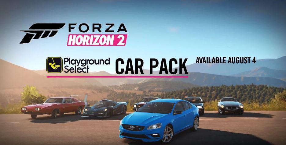 DLC Pack de 6 voitures gratuites sur Forza Horizon 2