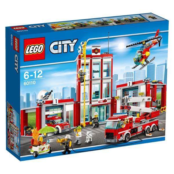 Pompiers60110 La Caserne Lego Des Jouet City mN0ywv8nO